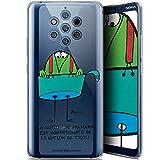 Caseink Coque pour Nokia 9 PureView (6) [Licence Officielle Collector Les Shadoks® Design La...