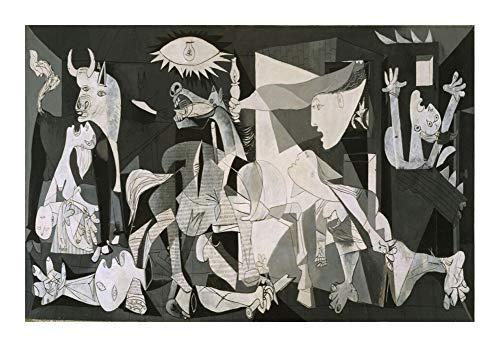 Puzzle Oil World Famosa Pintura Rompecabezas - Guernica de Picasso - Regalo de Protección Ambiental de Madera, Todas Las Piezas encajan Perfectamente (500/1000/1500 Piezas) (Size : 1000pcs )