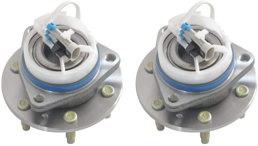 2-Piece Wheel Baltimore Mall Hub Bearing Easy-to-use Assembly with Compatible ABS wit Lug 6