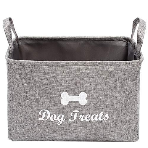 Geyecete Hunde-Leckerli-Aufbewahrungsbox für Hundespielzeug und Spielzeug zur Aufbewahrung von Futter und Leckerlis