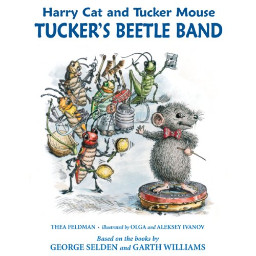 Harry Cat and Tucker Mouse: Tucker's Beetle Band audiobook cover art