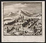 Ethal - Kloster Ettal Oberbayern Bayern Ansicht view