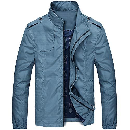 ZXHDP Neue Jacke Herrenmode Beiläufige Lose Herrenjacke Sportswear Bomberjacke Herrenjacken Herren und Mäntel