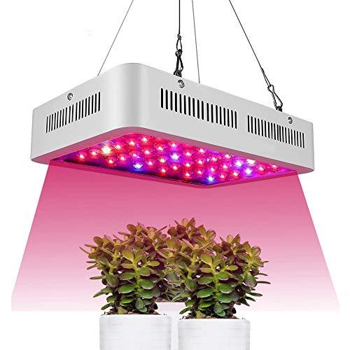 LANGYINH 1000W Pflanzenlampe, LED-Zuchtlampe, Vollspektrum-Zuchtlampe für Hydrokultur und Bodenkultur, Pflanzen, Gemüse und Blumen