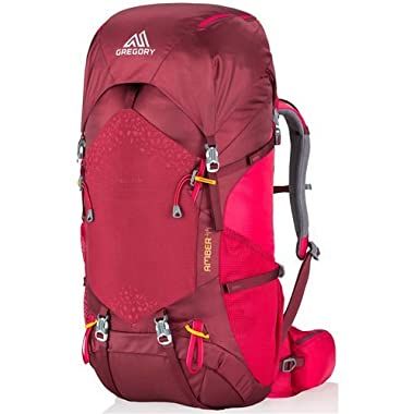 Gregory Mountain Products Amber 44 Liter Women's Backpack, Chili Pepper Red, One Size