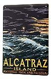 Blechschild Welt Reise Alcatraz