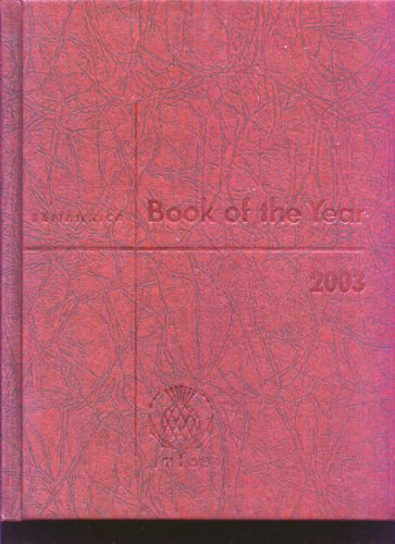 Britannica Book of the Year 2003 (Encyclopaedia Britannica Book of the Year)