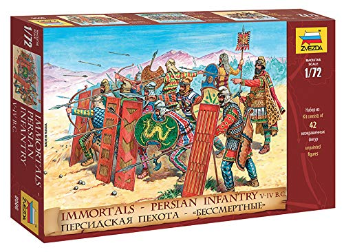 The Hobby Company Zvezda 8006 – Age of Battles Table Top, Persiano infantrie