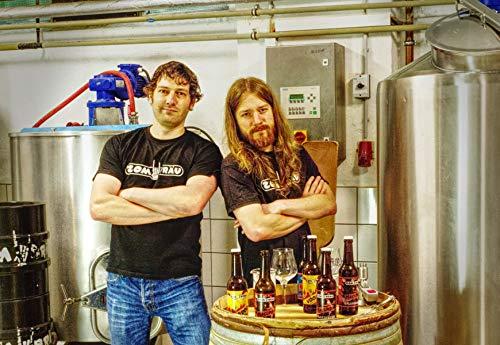 Zombräu Craft Beer Probierpaket - 12 x 0,33l Bier Set - In Handarbeit gebraute Biersorten mit einzigartigem Geschmack - Zum Bier Tasting oder als perfekte Geschenkidee - 6