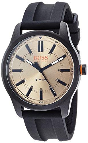 Hugo Boss Orange Reloj Análogo clásico para Hombre de Cuarzo con Correa en Silicona 1550045