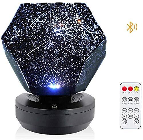 Projectoren Draagbare sterprojector Sterrenhemel Nachtlampje Galaxy-projector Diy Montage Planetariumlamp voor Kerst Slaapkamer Thuis