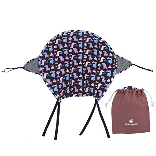OhhGo Cochecito de bebé Parasol cubierta de bloqueo UV para cochecito de bebé universal accesorio