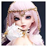 Youpin Doll BJD 1/4 Minifee Chloe Sarang Mirwen Fairyland Ball Joint Dolls bluefairy littlemonica Oueneifs Luts DELF (Color : Alicia, Size : A Line Girl Body)
