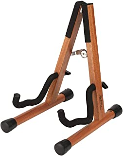 """Violin Stand, Ukulele stand, Neboic Wooden Banjo Stand, Violin Stand with Bow Holder, Foldable""""A"""" Stand for Ukuleles, Mand..."""