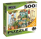 The LANG Companies Potter's Bench Puzzle (500-Piece)