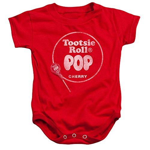 Tootsie Roll Baby Jungen (0-24 Monate) Spieler Gr. 18 Monate , rot