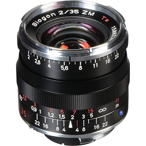 Carl Zeiss 1365-659 - Objetivo telemétrico para Montura Leica M - Biogon T 2/35 ZM, Color Negro