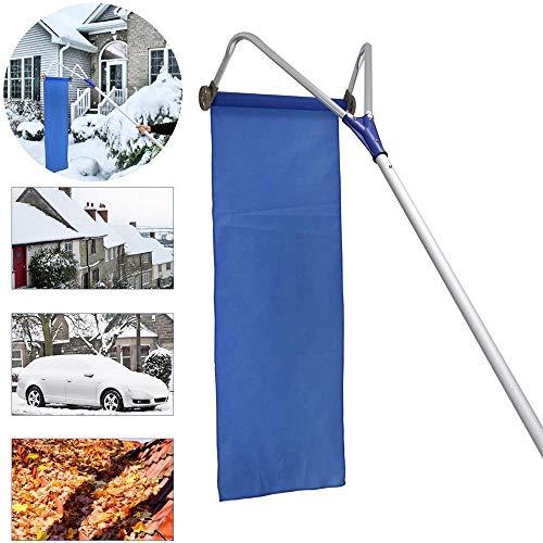 Retractable Dach Schneeschaufel Werkzeug Aluminium Schnee Rake-justierbarer Handgriff 20 Ft Oxford Cloth Schneeräumunghut Sled Convenient Winter-Produktfamilie Geräte