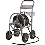 Strongway Garden Hose Reel Cart - Holds 5/8in. x 400ft. Hose