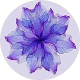 YOOMAT Tappetino da Meditazione in Gomma Naturale Scamosciata da 5mm, Comodo Morbido, Antiscivolo, Pieghevole, Personalizzabile, Tappetino Yoga, Oro