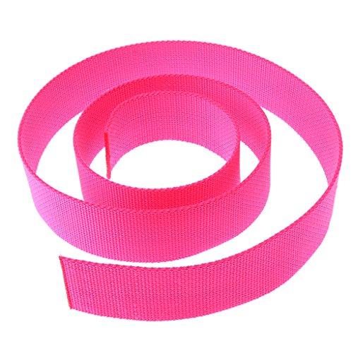 SM SunniMix Polypropylen PP Tauchgewicht Gürtel Tauchgürtel Wassersport - Fluoreszenz Rosa