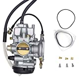 SUNROAD Replacement Carburetor Carb fit for ATV Yamaha 2000-2006 Big Bear Kodiak 400 & 2007-2011 Grizzly 350 450 & 2006-2009 Wolverine 350 & 2007-2010 Wolverine 450
