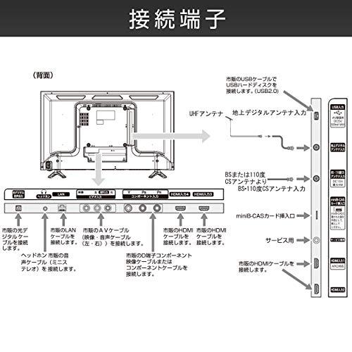 ハイセンス『32V型ハイビジョン液晶テレビ32N20』