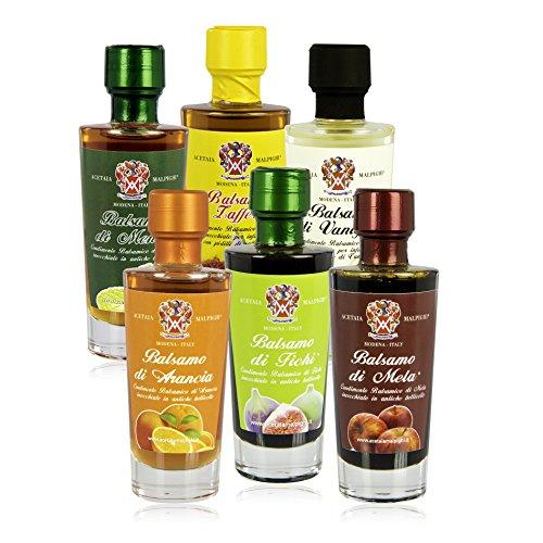 Acetaia Malpighi - Balsamo Balsamic Vinegar Collection (6 Bottles)