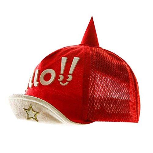 Chapeau de plage rouge pliable Chapeau d'été Chapeau de coton Grand cadeau pour la mode pour bébés S