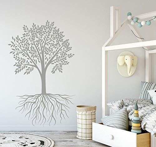 Sueño luna y estrellas etiqueta de vinilo oso decoración jardín de infantes arte niña dormitorio dulce sueño decoración del hogar etiqueta de la pared A8 57X91CM