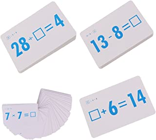 144 Pcs Math Flash Card Subtraction Addition Division Multiplication
