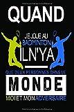 Badminton: Carnet de notes pour badiste (Badistar)