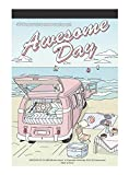 Awesome day : Coloring Greeting Cards Book, 30 Beautifully Illustrated Color Therapy Coloring...