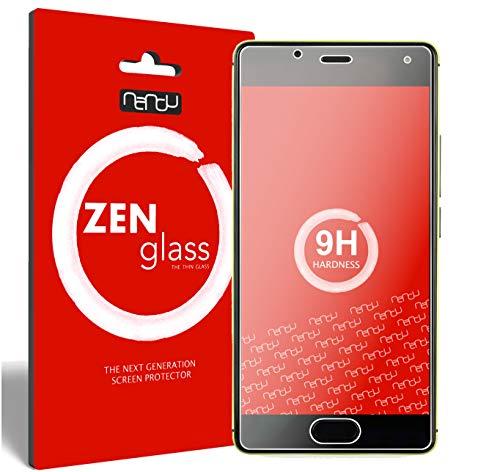ZenGlass Flexible Glas-Folie kompatibel mit Wiko U Feel Panzerfolie I Bildschirm-Schutzfolie 9H I (Kleiner Als Das Gewölbte Bildschirm)