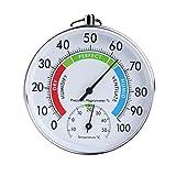 Xineker Indicateur Analogique De Température Et D'humidité Thermomètre Intérieur D'hygromètre