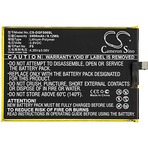 CS-DGF500SL Batería 2400mAh Compatible con [DOOGEE] F5 sustituye p