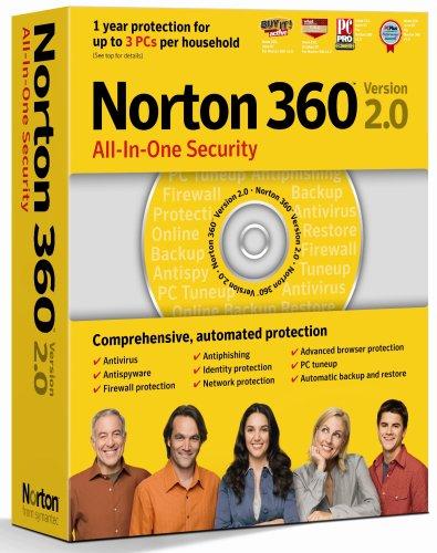 Norton 360 V 2.0 3 Benutzer - englisch