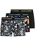 Jack & Jones Jacjames Trunks 3 Pack Noos Bxer, Negro, M para Hombre