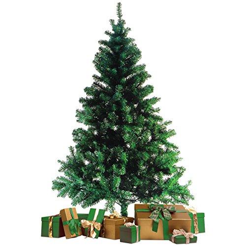 Wohaga® Künstlicher Weihnachtsbaum Tannenbaum inklusive Christbaumständer 180cm / 600 Spitzen Weihnachtsdekoration künstliche Tanne