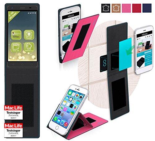 Hülle für Acer Liquid Z6E Tasche Cover Hülle Bumper | Pink | Testsieger