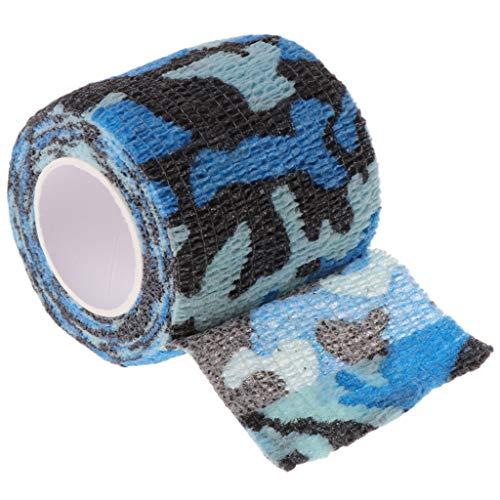 Keahup Selbstklebende nichtgewebte Bandage, elastische Tattoo Grip Tube Cover Wrap Sport Tape