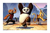 Puzzles Rompecabezas de Madera 300/500/1000/1500 película Piece Kung Fu Panda 3 Hijos Adultos de Juguete de Regalo (Color : C, Size : 500P)