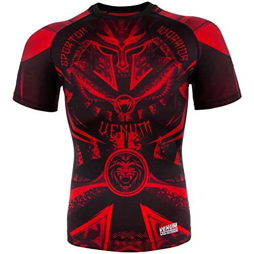 Venum Gladiator 3.0 T-Shirt Homme, Noir/Rouge, FR...