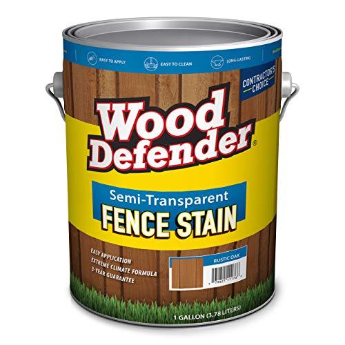 Wood Defender - Semi-Transparent Fence Stain- Sierra - 1 Gallon