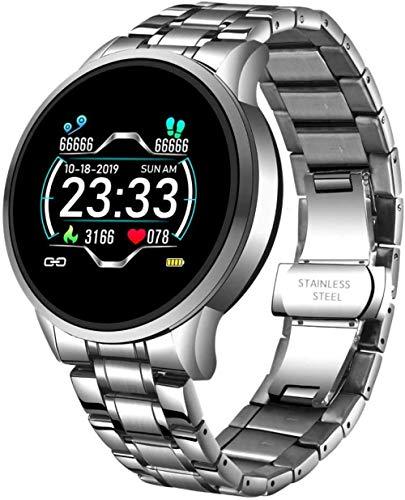 Smart Horloge Fitness Activity Tracker Mannen Vrouwen Hartslag/Bloeddrukmeter Kids Sport Stappenteller Bluetooth Horloges Waterdicht-B