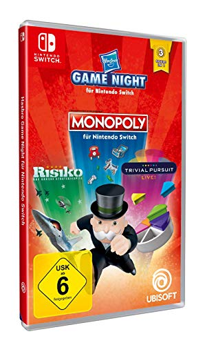 Monopoly/Risk/Trivial Pursuit Live (Nintendo Switch)