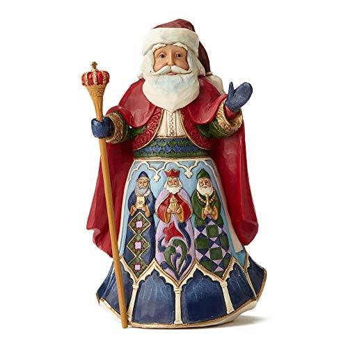 Jim Shore from Enesco - Figura decorativa de Navidad, Papá Noel de...