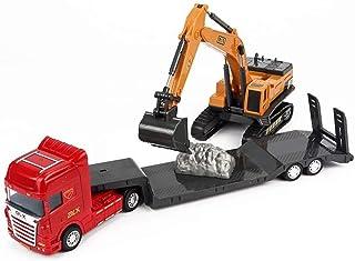 ZUKULIFE Vehículos de Construcción y Camión de Construcción con Excavadora (Camión con Excavadora)