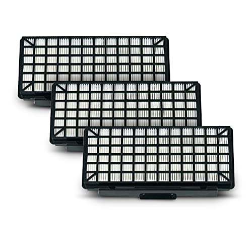 Juego de 3 filtros Hepa de repuesto para Bosch 00579496 00577303, filtro de láminas BBZ154HF VZ154HFB para aspiradora de suelo, accesorios de filtro para aspiradora, caja de filtro de aire