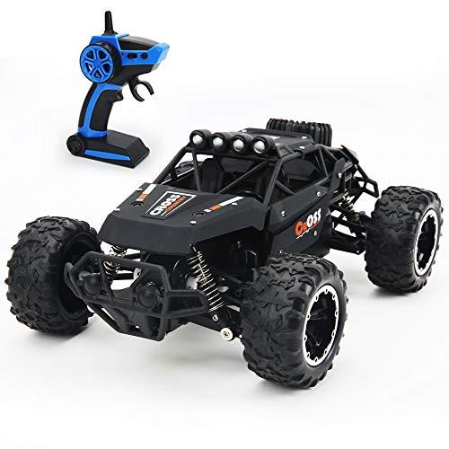 LBLA 1:16 2. 4GHz Auto Telecomandata Monster Truck,Elettriche 4x4 Fuoristrada,Fuori Strada Veicolo,4WD Alta velocità Tutto Terreno Auto,RC Rock Crawler per Bambini e Adulti